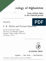 Allchin 1978 Archaeology of Afghanistan