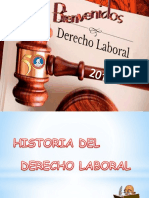 Historia Del Derecho de Trabajo 1-2018