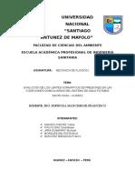 Presiones en Las Conexiones Domiciliarias CONCLUSIONES