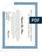 mission certificate of completion