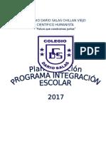 PLAN de ACCIÓN PIE 2017 Con Correciones