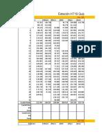 Anuarios 2009-2013 Estacion H0719 Ecuador
