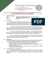 Basura Ko Bitbit Ko A Waste Management Proposal