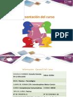 Presentación Del Curso Competencias Comunicativas 50010
