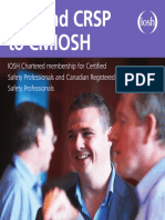 Csp and Crsp to Cmiosh Ed New12
