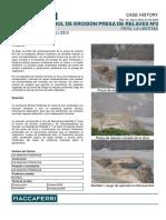 Control de Erosión Presa de Relaves La Poderosa_Fotos