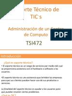 Administracion de un centro de computi