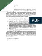 Informe Molecular Extraccion Dna