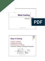 L5 Metal Casting Ppt