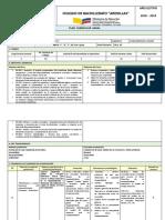 Planificacion Curricular Anual Emprendimiento y Gestion 1ero Bgu
