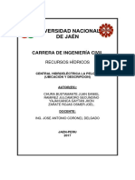 CENTRAL HIDROELECTRICA LA PELOTA