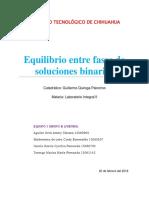 Soluciones binarias