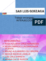 Diapositiva de La Interjeccion