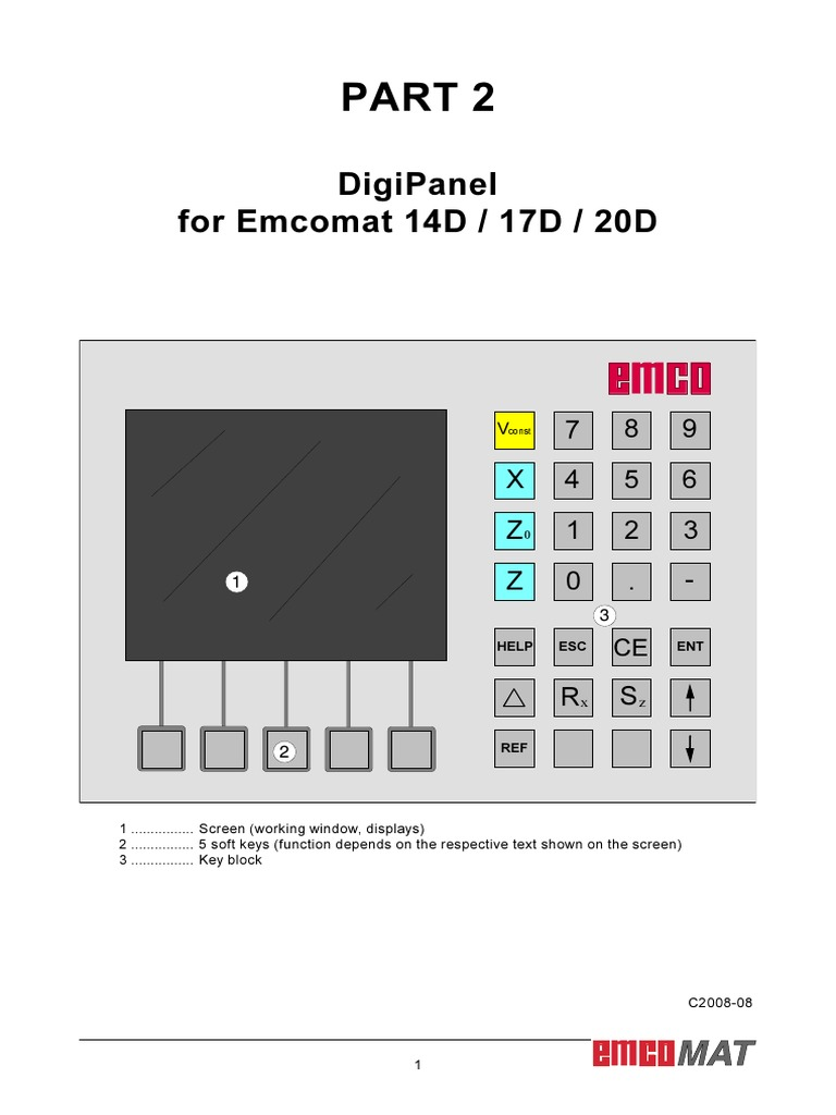 Manual Emco 20d Torno | Cartesian Coordinate System | Machining on relay switch, relay computer, relay coil, relay lights, relay connections, relay parts,