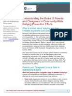 parent guide to bullying