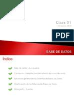 Base de Datos Clase001