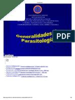 Parasitología i