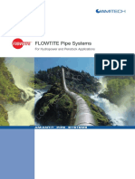 FLOWTITE Pipe Systems - For Hydropower and Penstock Applications - En
