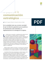 El Papel de La Comunicacion Estrategica