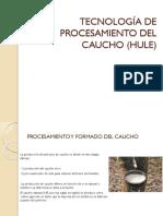 Tecnología de Procesamiento Del Caucho (Hule)