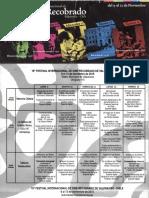 Programa festival de cine 2015
