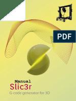 Manual de Configuración de Slic3r_por Ingenio Triana