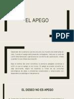 Apego (Diapositiva)