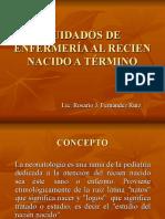 1era Sesion Neonatologia y Atencion Inmediata Del RN