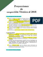 Proyecciones de Inspección Técnica Al 2018 (1)
