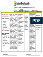 3º Planejamento MENSAL de HISTÓRIA- 7º Ano ABT - Ref. a 2ª AVM - Ano Letivo de 2017