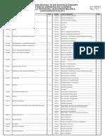 Equivalencias Plan 2014