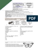 Evaluacion Ciencias Naturales Grado 4to
