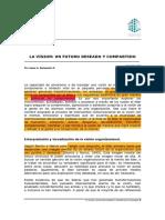 Lectura Sesión N° 5 Obligatoria - La Visión-Un futuro deseado y compartido - Sampedro, J_