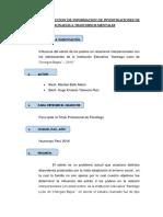 Ficha de Recoleccion de Informacion de Investigacion