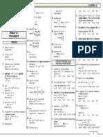 ALG 2° - 02 Polinomios