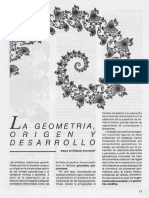 La Geometría Origen y Desarrollo