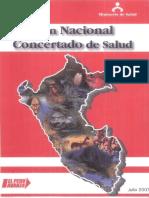 Plan Concertado de Salud Peru