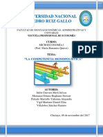 Monografía Completa Competencia Monopolística