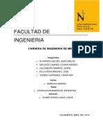 Legislacion Minera de Argentina