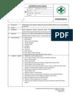SOP Memberikan Obat Injeksi Intravena (BolusVenvlon) 2