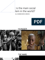 What is the Main Social Problem in The