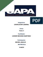 Legislacion Laboral Tarea 3