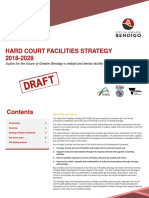 20180418 Draft Hard Court Facilities Strategy 18 April 2018