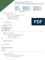 Java MockExam - 2
