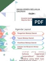 Ppt Manajemen Belanja Daerah