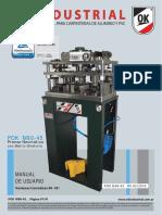 Pulmon Pok m90-45 Giratoria
