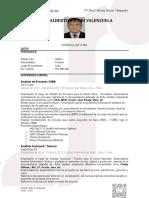 CV Percy Macurí