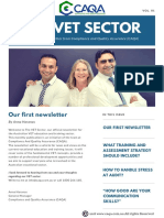 The VET Sector Newsletter - Edition 1, April 2018