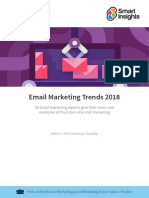 Email Marketing Trends 2018 (Smart Insights)
