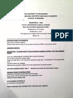 Uni of Melb 2005 Mcqs Editedjr